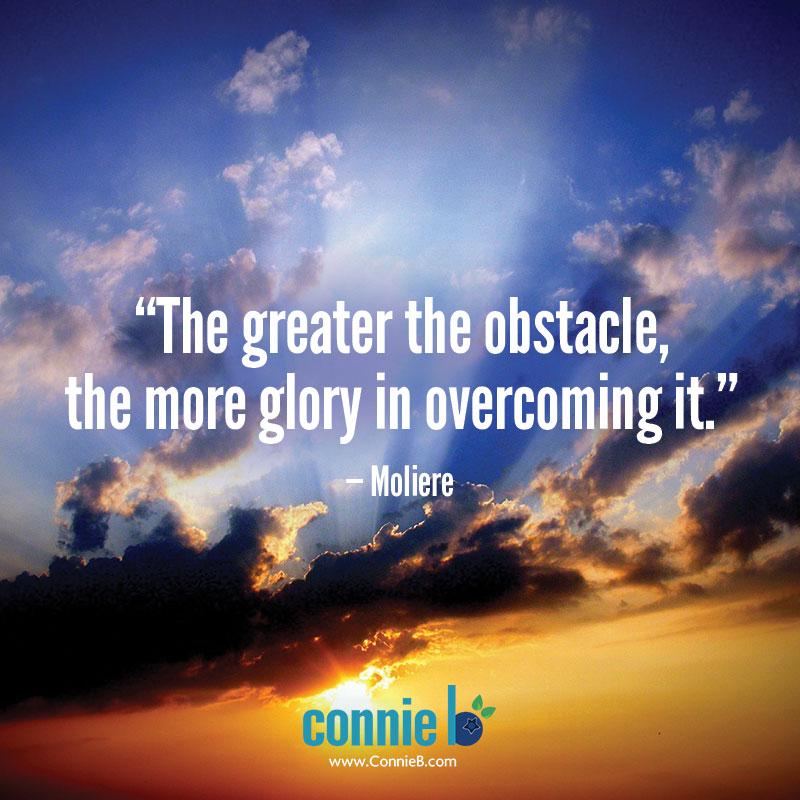overcoming great hardship