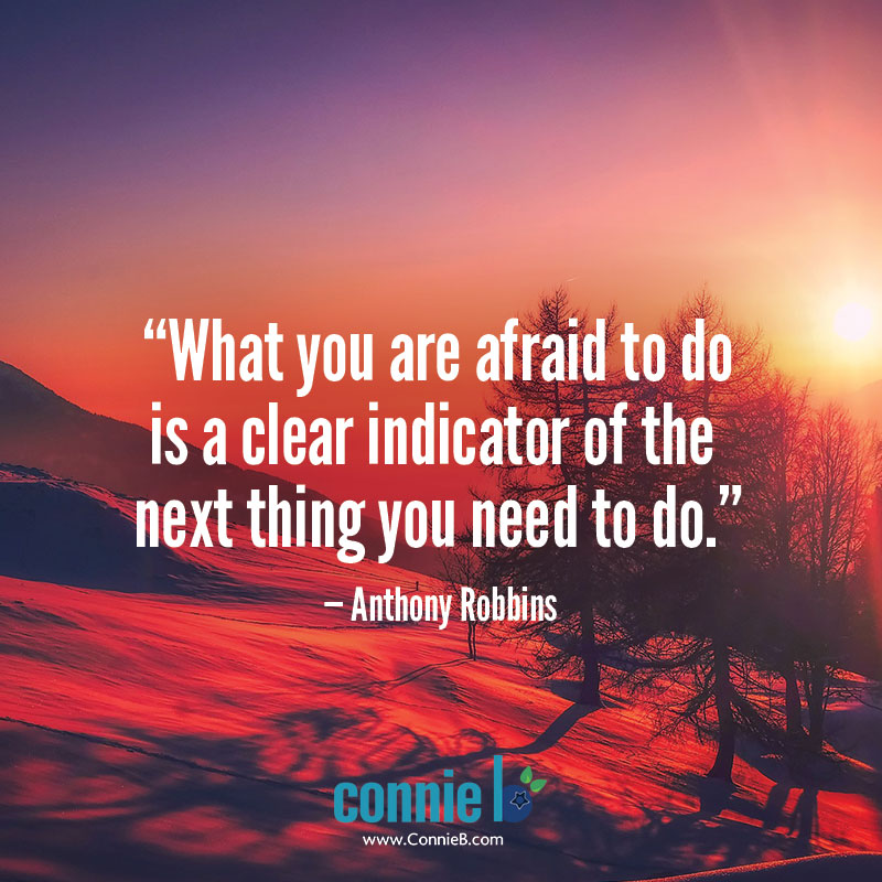 do something we are afraid to do
