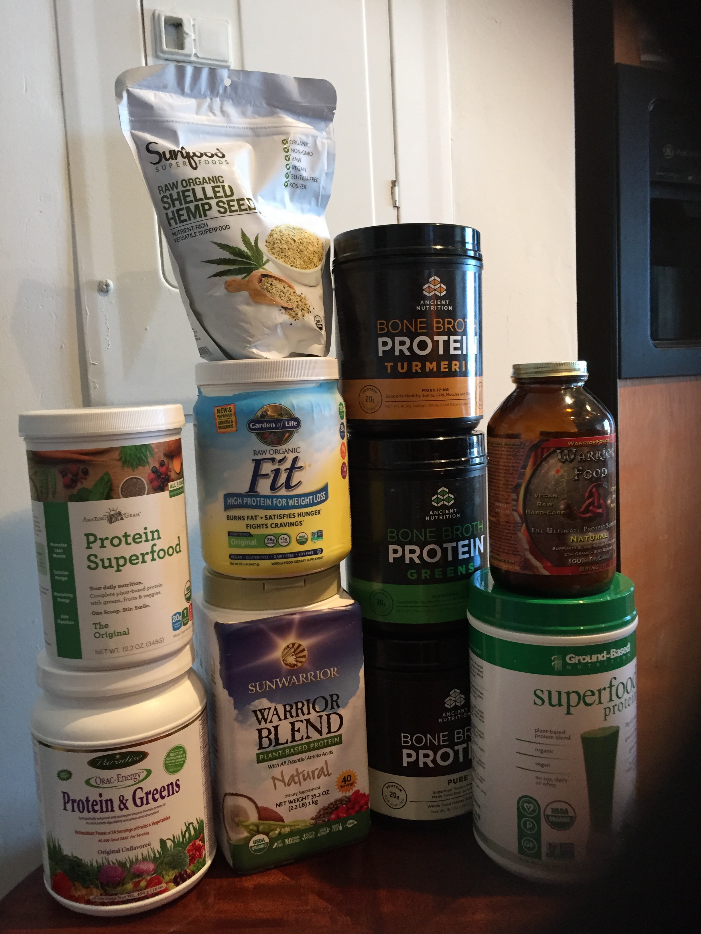Sugar-Free Protein Powders